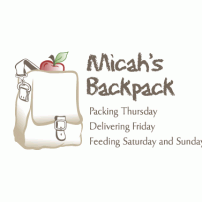 Lisa Acciai - logo for Micah's Backpack