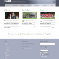 Lisa Acciai - Website for Hungry Mother Lutheran Retreat Center