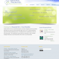 Lisa Acciai- website for Personal Priorities FPC