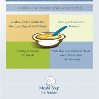 2015 Micah's Soup for Seniors infographic